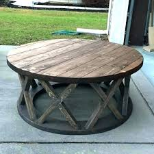 wood coffee table with wheels round coffee table with casters round wood coffee table rustic rustic