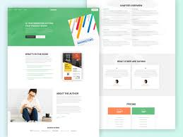 Bookie A Premium Landing Page Template Free Download By
