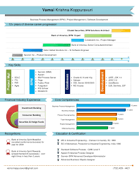 Visual Resume Software A Good Resume Example