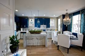bedrooms and more. View In Gallery Classy Blue And White Kitchen Dining Space Bedrooms More O