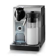 DeLonghi Nespresso Lattissima Stainless Steel Automatic Programmable Espresso  Machine