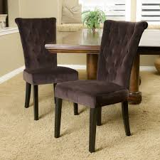 dining chairs brown. Tufted Dining Chairs Incredible With Brown