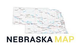 map of nebraska cities and roads