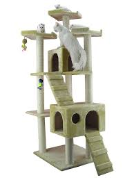 amazoncom  cat tree beige  cat tower  pet supplies