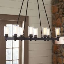 gallery of arturo 8 light rectangular chandelier