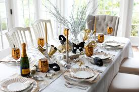 New Year Eve Table Setting Ideas