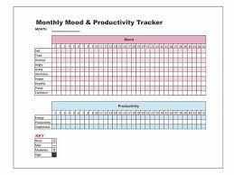 Daily Mood Chart For Bipolar Disorder Pin On Products