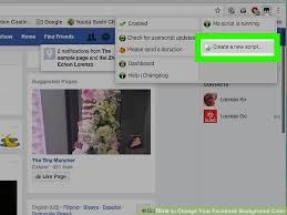 image titled change your facebook background color step 3
