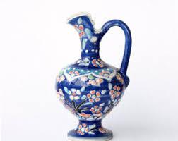 Decorative Ceramic Pitchers Decorative pitcher Etsy 15
