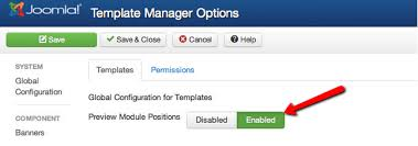 Joomla 3.x. How To Check Template's Module Positions - Template ...