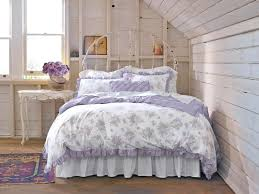 simply shabby chic bedroom furniture. Lovely Minimalist Shabby Chic White Lilac Floral Patterns Duvet Set Bedroom Design Simply Furniture