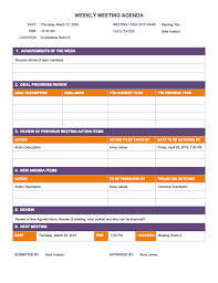 level 10 meeting template free weekly schedule templates for excel smartsheet