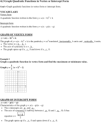 writing equation of parabola given vertex and focus worksheet