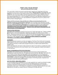 Seasonal Police Officer Cover Letter Class Essay