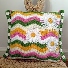 Crochet Patterns For Pillow Covers