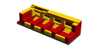 working lego coin sorter
