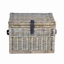 large wicker storage trunk. Unique Trunk Deep Kubu Wicker Storage Trunk Large In Serene Grey  The Basket Lady With Large Trunk 3