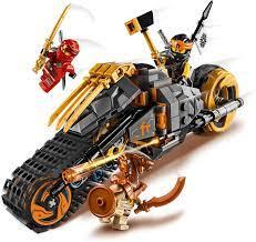 Lego 70672 NINJAGO Coles Offroad-Bike Ninja Motorrad mit Raupenbändern und  3 Minifiguren, Abenteuerspielzeug für Kinder: Amazon.de: Spielzeug