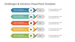 Challenges Solution Powerpoint Template