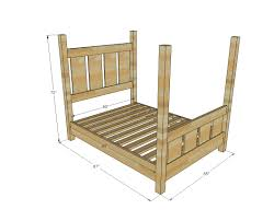 four poster bed plans. Unique Bed Dimensions For Four Poster Bed Plans R