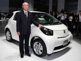 new car launches in japanToyota Launches New Cute Little Car Called the iQ  Toyota  Zimbio