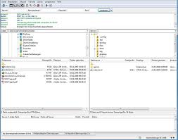 Datentransfer mit FileZilla