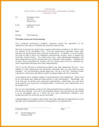 Disrespectful Behavioral Warning Letter Template Write Up For