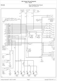2011 schematic wiring diagrams solutions 1991 ford taurus lx system wiring diagram for keyless entry circuit