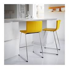 IKEA - BERNHARD, Bar stool with backrest, You sit comfortably thanks to the  restful flexibility of the seat.You sit comfortably thanks to the padded  seat.