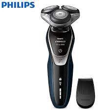 Máy cạo râu khô và ướt cao cấp Philips Norelco S5355/82 thuộc Serial 5000 -  Hệ thống hai lưỡi lưỡi cạo MultiPrecision và Super Lift & Cut Action - Hàng  Nhập Khẩu