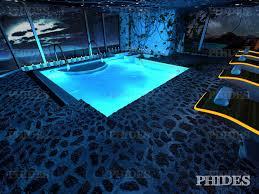 pool water at night. Swimming Pool 3 Night 3D Model Water At