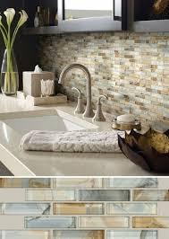 Installing Glass Mosaic Tile Backsplash Stunning ▷ 48 Idées Pour Une Cuisine Relookée Et Modernisée Kitchen