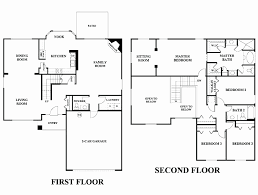 two story 6 bedroom house plans beautiful modern 5 bedroom house floor plans modern 5 bedroom
