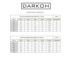 German Size Chart German Size Chart Darkoh