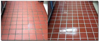 tile before and after spectrum cleaning