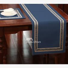 cotton linen elegant table runner 144