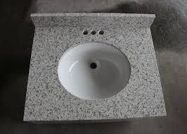 artificial crystal white quartz cut to size quartz bathroom countertops with white cabinets