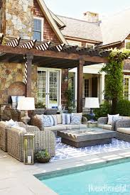 pool patio decorating ideas. 4 Indoor Decorating Moves To Take Outside Because Your Patio Should Be As Comfortable Living Room. 0 How Decorate A - Exterior Decor Ideas Pool