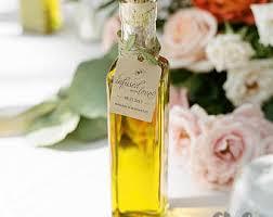 Decorative Infused Oil Bottles Olive Oil Favors Etsy 100
