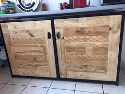how to make cabinet doors from pallets trekkerboy