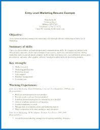 Entry Level It Resume Resume For Entry Level Jobs Entry Level Resume