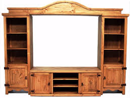 picture of all wood entertainment center