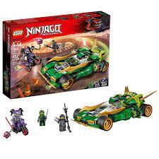 Đồ chơi LEGO Ninjago 70641 Chiến Binh Đêm Ninja - Đồ chơi Minecraft chính  hãng