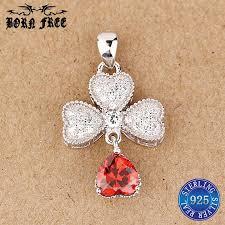 whole 925 sterling silver crystal heart pendant locket choker pendentif jewellery joyas colgante 925 silver pendants women whole personalized