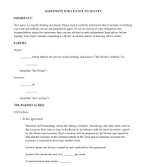 Lodger Tenancy Agreement Template Uk Lodger Agreement Sample ...
