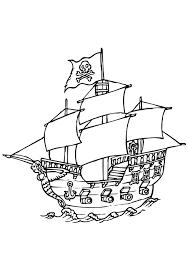 Pirates 8 Coloriage De Pirates Coloriages Pour Enfants Toute Dessin De Bateau A Imprimer Coloriage De Bateau L