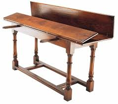 Attractive ... Refectory Console Table: Practical Fold Out Flaps For Easy Storage Back  To Dining Tables