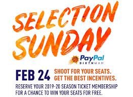 Selection Sunday   2019