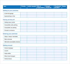Business Action Plan Template