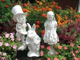 cheap garden statues. Garden Statue For Country Living Style View In Gallery Alice Wonderland 4 Cheap Statues E